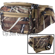 JX Swamper Camo Water-Resistant Waist Bag Fanny Pack Tummy with 5 Compar... - $15.86