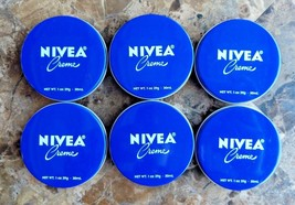 Lot 6 NIVEA Cream Skin Moisturizing Travel Size 1 oz - $10.39