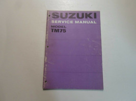 1973 Suzuki TM75 Tm 75 Repair Shop Workshop Service Manual Factory Oem Book 73 - $14.22