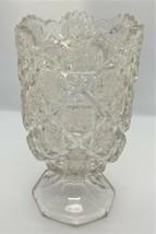 Westmoreland Circa 1910 BRIDLE ROSETTES aka Checkerboard Celery Vase, Spooner - $28.45