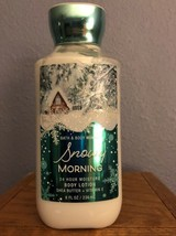 Bath & Body Works Snowy Morning Body Lotion New Sealed 8 OZ - $8.79