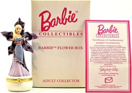 Barbie Collectibles Barbie Flower Box Adult Collector With COA  2002 Avon - $14.99