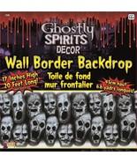 Spooky Horror Prop-GHOSTLY SPIRITS BORDER-Scene Setter Trim Halloween De... - $7.40