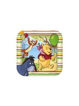 Disney Pooh and Pals Square-Shaped Dinner Plates (8) - $15.79