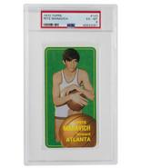 Pete Maravich 1970 Topps #123 Atlanta Hawks Basketball Card PSA EXMT 6 - $17,739.80