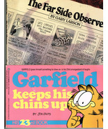 The Far Side® Observer by Gary Larson + Garfield Keeps His Chins Up, 2 Books - $7.60