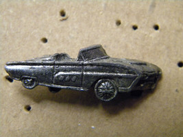 Ford T-BIRD Convertible Pewter Look Hat Pin,Lapel Pin - $7.95