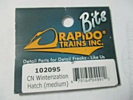 Rapido # 102095 Canadian Winterization Hatch (Medium) 2 Pack. HO Scale image 2