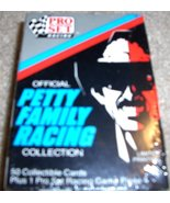 Pro Set Official Petty Family Racing Collection 50 Collectible Cards wit... - $7.50