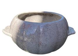 HOENIG of CALIFORNIA Tan Speckled PUMPKIN Bowl- No Lid - MID CENTURY Modern - $18.46