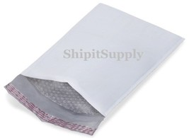 1-500 #000 4x8 ( White ) Poly Bubble Padded Envelopes Mailers Fast Shipping - $0.99+