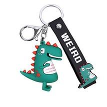 Keele dinosaur keychain for men T-Rex key ring for boy Key Holder gifts ... - $11.23