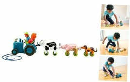 Bright Basics Tractor Pull, Farm Animal Playset, Toddler Toys, Ages 2+ - $34.12