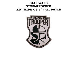 STAR WARS STORM TROOPER BOBA FETT MANDALORIAN JEDI IRON/SEW-ON PATCH  - $10.00