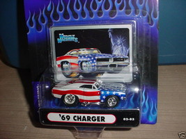 Muscle Machines Usa Tribute '69 Dodge Charger 02-83 Mip Free Usa Shipping - $11.29