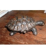 Antique 19th Century / late 1800s  Figural Turtle Match Holder or Trinke... - $750,22 MXN