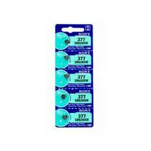 Sony 1.55V 0% Mercury Silver Oxide Battery (Pack of 5), SR626SW - $10.49