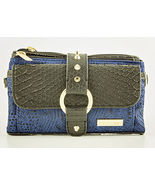 Blue Jacquard Pouchee Kash & Karee Wallet / Crossbody / Wristlet - $32.90