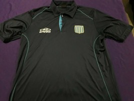 old blue soccer jersey Club Racing   Argentina  - $34.65