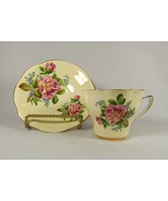 """Vintage Cup & Saucer Crownford """"Sweetheart Rose"""" Bone China England Pin... - $14.80"""