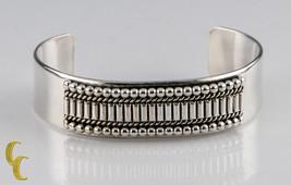 Ron Yazzie Native Américain Argent Sterling Bracelet Manchette, Cadeau I... - $262.99