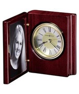 Howard Miller 645-497 (645497) Portrait Book Photo Desk Clock - $94.99