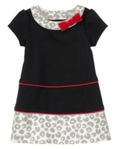 """NWT GYMBOREE GIRLS DRESS BLACK/GRAY/RED """"COZY KITTY"""" COLLECTION SIZE 3-6M - $14.01"""