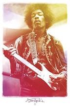 MUSIC POSTER PRINT Legendary Jimi Hendrix UNFRAMED CARDBOARD TUBE ARTIST... - $16.78