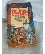 The Tolkien Quiz Book Bart Andrews Lord of the Rings LOTR 1st Ed 1st Pri... - $13.85