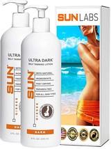 Sun Laboratories Ultra Dark Self Tanning Lotion - Set of 2-8 fl oz - $49.95