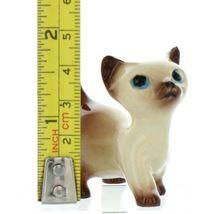 Hagen Renaker Specialty Cat Siamese Kitten Walking Ceramic Figurine image 2