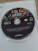 Nintendo Wii DJ Hero - COMPLETE image 2