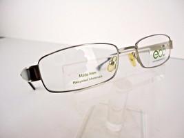 Earth Conscious Optics (ECO) Mod 1041 (SIL) Silver 53 x 18   Eyeglass Frame - $19.75