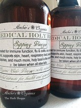 Organic Holy Basil Restorative Sipping Vinegar - The New Healthy Cocktail! - $9.50