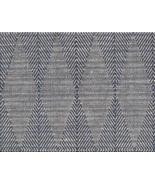 3.5 yds Robert Allen Upholstery Fabric Diamond Flex Indigo 253074 DK - $99.75