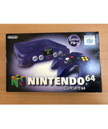 Nintendo64 Console Midnight Blue Toys R Us Limited Color Official Import - $336.59