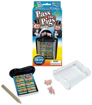 Pass the Pigs Classic Game Winning Moves Dice Kids Party Pig + Case - $11.53