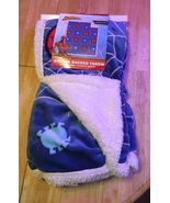 Spiderman Sherpa Backed Throw - $20.00