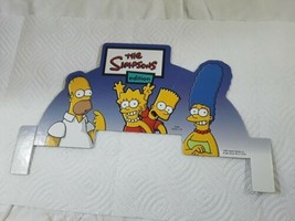 Design Card For The Simpsons Edition Jeopardy Game 2003 Replacement Part  - $9.98