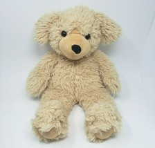 "20"" VERMONT TEDDY BEAR BROWN / TAN PUPPY DOG STUFFED ANIMAL PLUSH TOY SO... - $45.82"