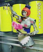 1998 Flying Lady Robot Maid Futuristic Airwalk Shoes Print Ad  - $9.99