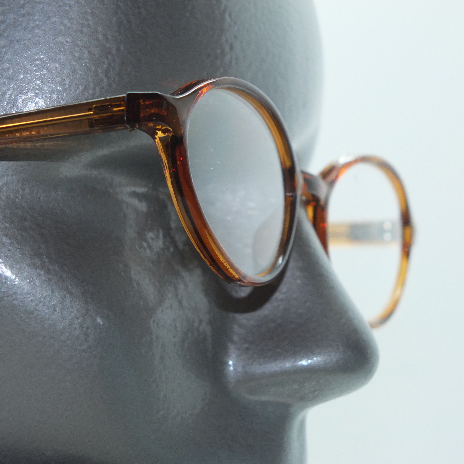 Primary image for Reading Glasses +1.00 Lens Caramel Oval Lightweight Frame Sophisticated Styling