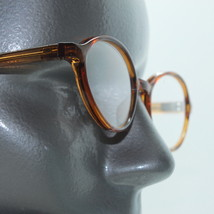 Reading Glasses +1.00 Lens Caramel Oval Lightweight Frame Sophisticated ... - $14.97