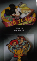Disney Store 100 Years of Dreams Toy Story 2 Pin - Woody, Jesse and Bull... - $14.80
