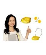 Egg Slicer Cuts Through Boiled Eggs With Minimal Effort - $11.87