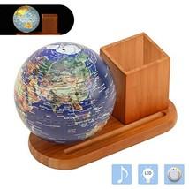 FUN GLOBE 3 in 1 Illuminated World Globe Desktop Decoration Geographic Interacti
