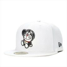 New Era Doraemon collaboration cap 59FIFTY SITTING Optic white - $95.99
