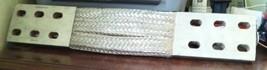 Burndy  Flexible Copper Braid Ground Strap 833g24006g50 4x23 image 1