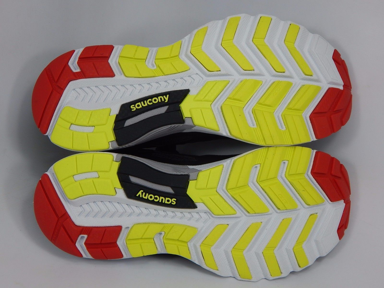 Saucony Valor Men's Running Shoes Size US 9 M (D) EU 42.5 Black Red S20321-2