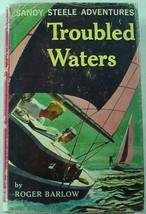 Sandy Steele Adventure no. 6 Roger Barlow Simon & Schuster hcdj 1st Prin... - $9.00